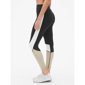 GapFit colorblock sculpt high waisted leggings